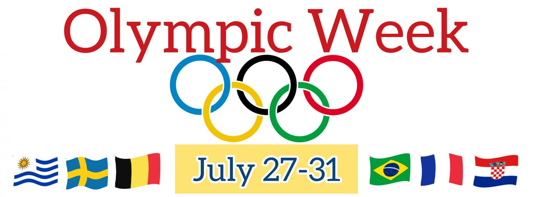 Olympic Week (July 27th-31st)